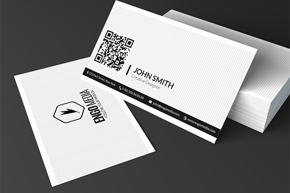 Creative Corporate Business Card 08