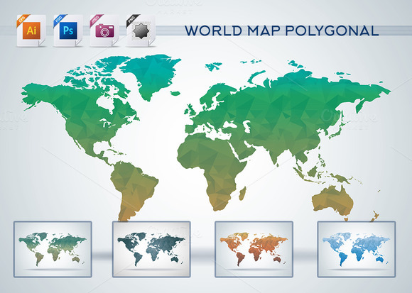 Polygonal Geometric Triangle Map