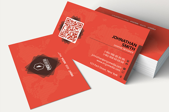 Creative Corporate Business Card 12