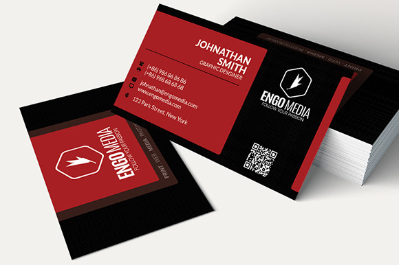 Creative Corporate Business Card 13