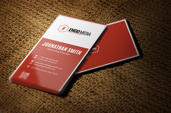 Creative Corporate Business Card 14