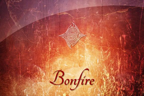 15 Textures Bonfire