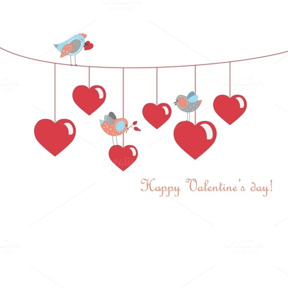 Birds Celebrating Valentine S Day
