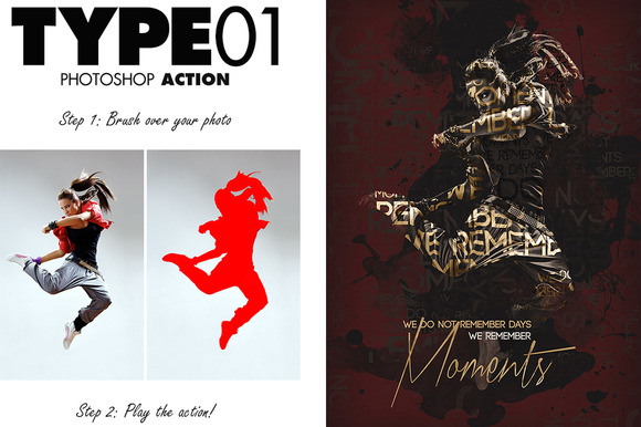 Type01 Photoshop Action