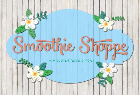 Smoothie Shoppe And Bonus