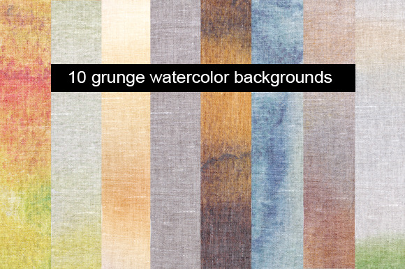 10 Canvas Texture Backgrounds