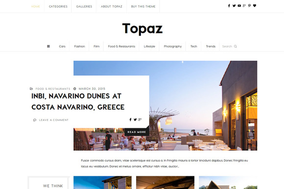 Topaz Contemporary Magazine Blog