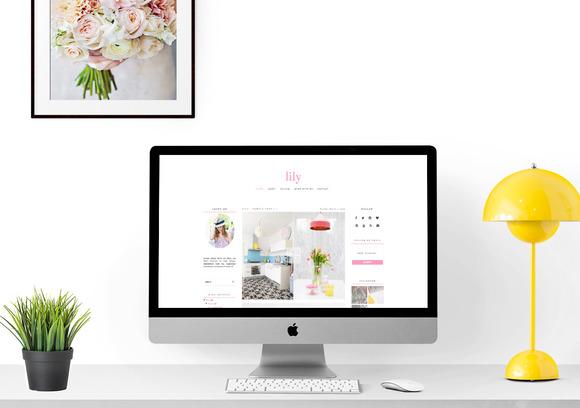 Responsive Blogger Theme Lily