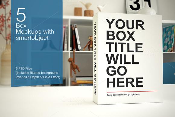 Box Pack Mockups