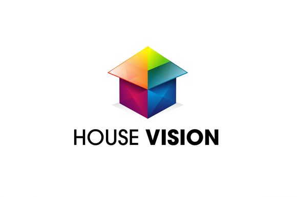 House Vision Logo Template