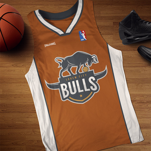 Bulls Logo For Sport Team