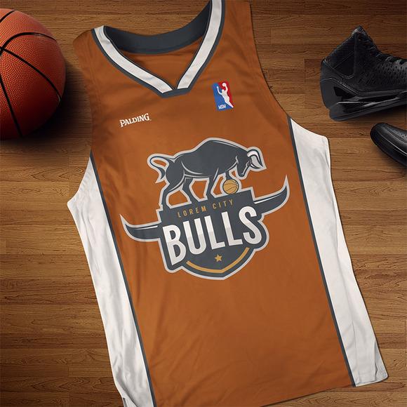 Bulls Logo For Sport Team