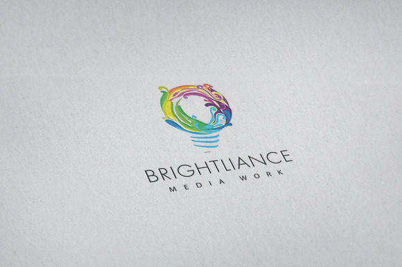 Brightliance Logo Template