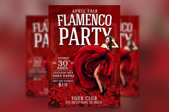 Flamenco Flyer PSD Template