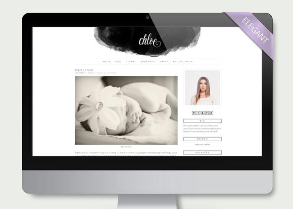 Chloe Clean Wordpress Theme Blog