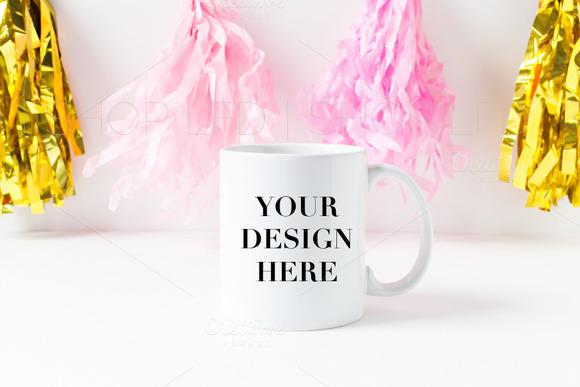 Styled Stock Image Mug Mockup