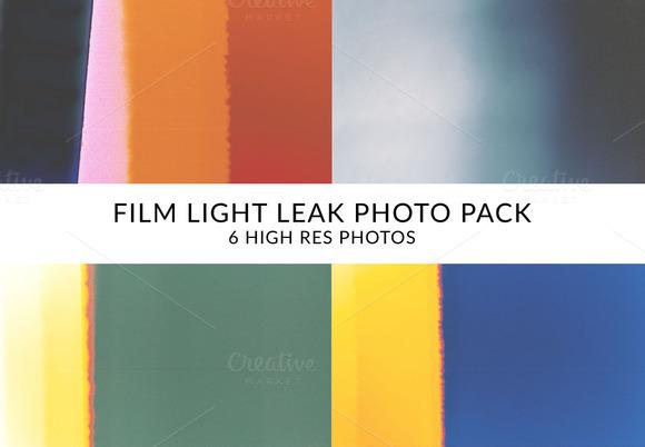 Film Light Leaks Photo Pack