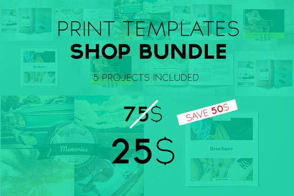 Print Templates Easter Bundle