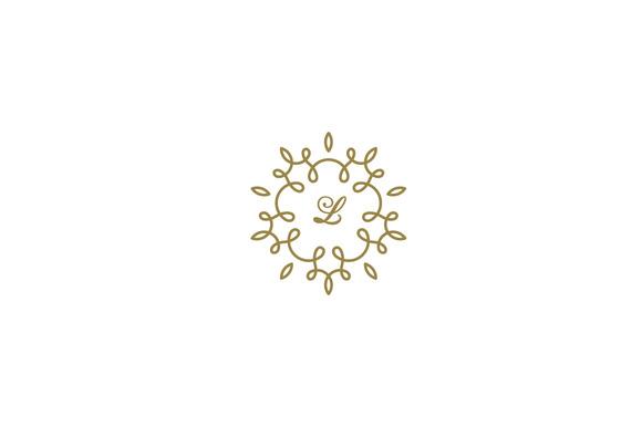 Luxury Premium Floral Logo