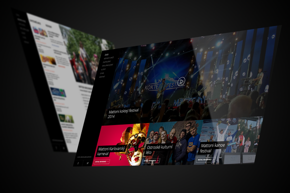 Website Showcase Perspective Present