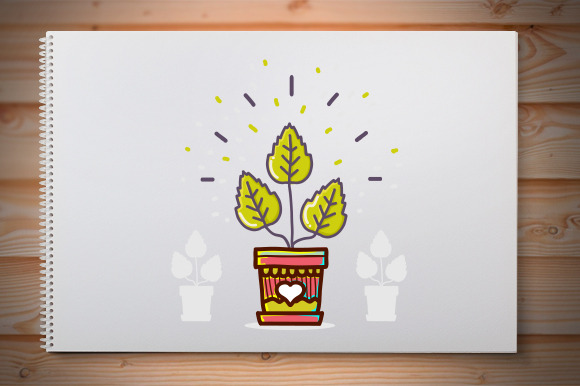 Vector Illustration Plants