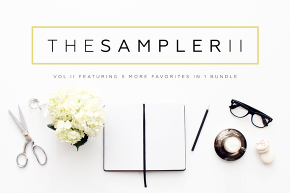 The Sampler II Header Image Bundle