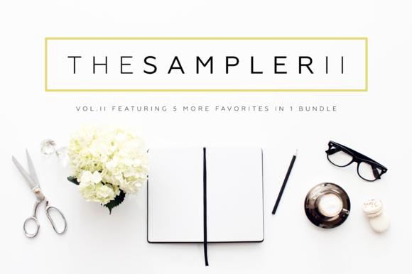 The Sampler II Header Image Bundle