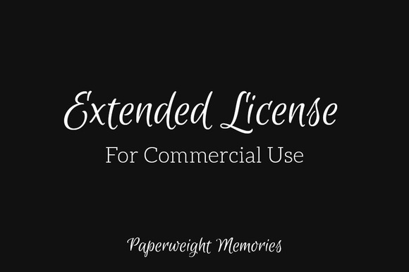 Extended Use License Paper Pack