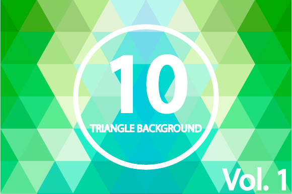 10 Triangle Backgrounds Vol 1