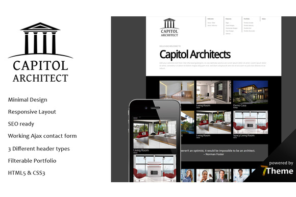 Capitol Architect WordPress Theme