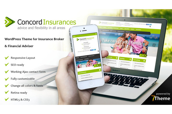 Concord Financial Services Theme