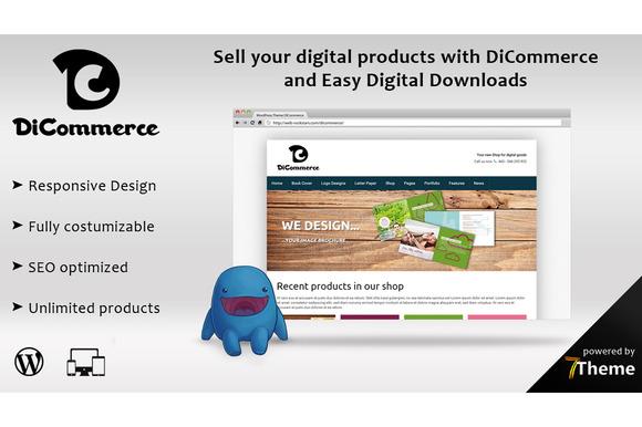 DiCommerce Easy Digital Downloads