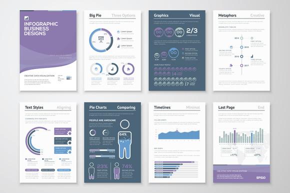 Infographic Brochure Elements 6