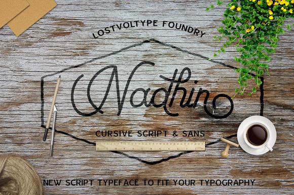 Nadhin Script Sans