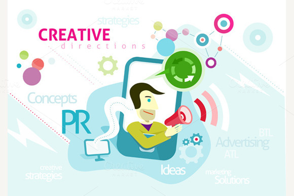 Advertising With Words PR Creative
