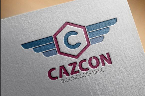 Cazcon C Letter Logo