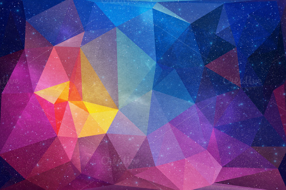 11 Polygonal Backgrounds