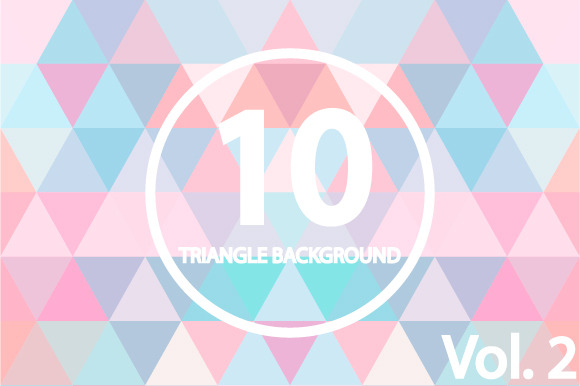 10 Triangle Backgrounds Vol 2