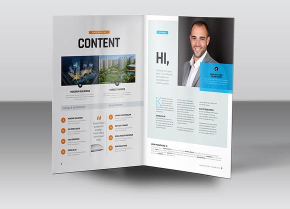 Bi-Fold A5 Brochure Leaflet Mock-u