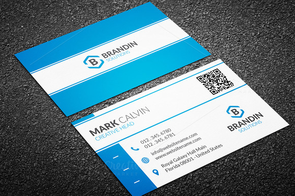 Creative Simple Business Card 44