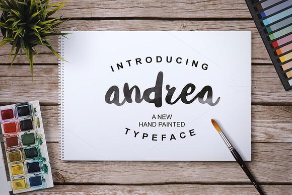 Andrea Script 35%OFF