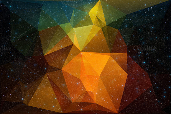 Polygonal Background #2