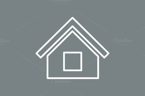 Outline House Icon