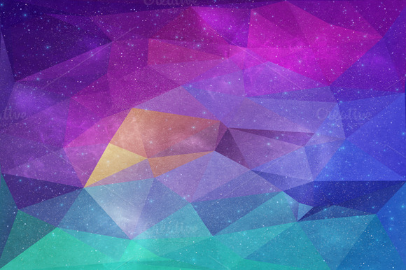 Polygonal Background #3