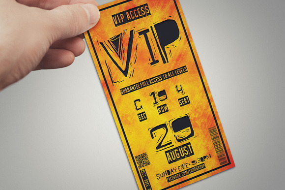 Multipurpose Fire Style VIP PASS