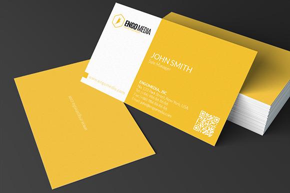Creative Corporate Business Card 19