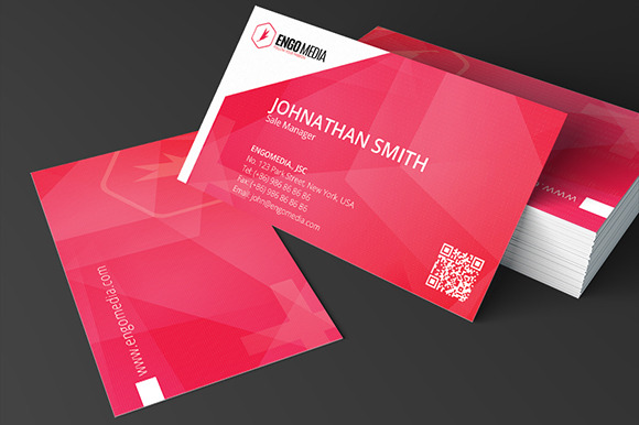 Creative Corporate Business Card 20