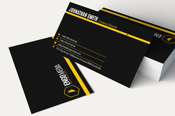 Creative Corporate Business Card 25