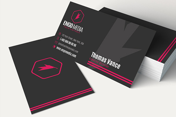 Creative Corporate Business Card 29
