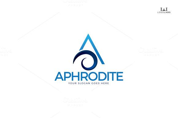 Aphrodite Letter A Logo